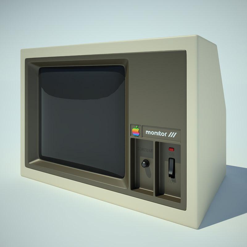 Monitor Apple 2 Computer_02.jpg