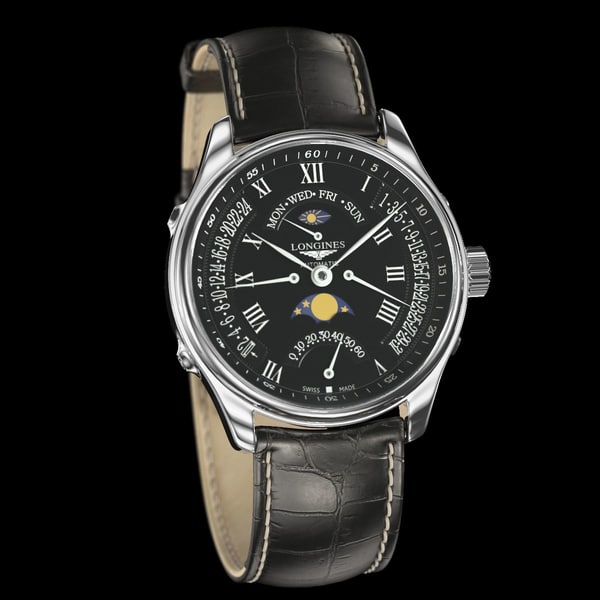 The Longines Master Collection Watches 3D Models