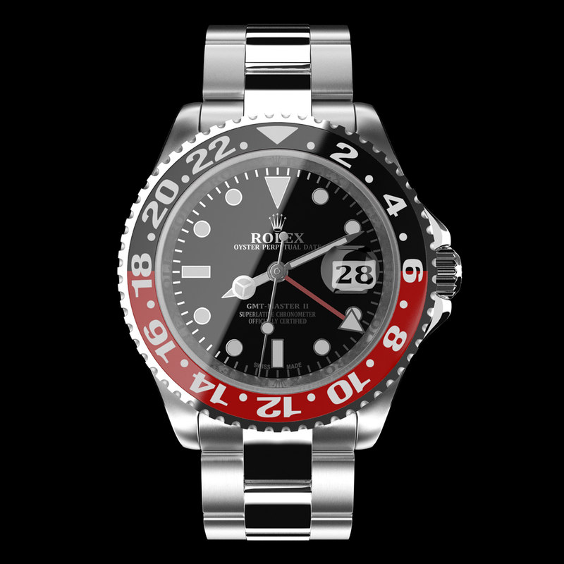 Rolex GMT-Master II Red Black