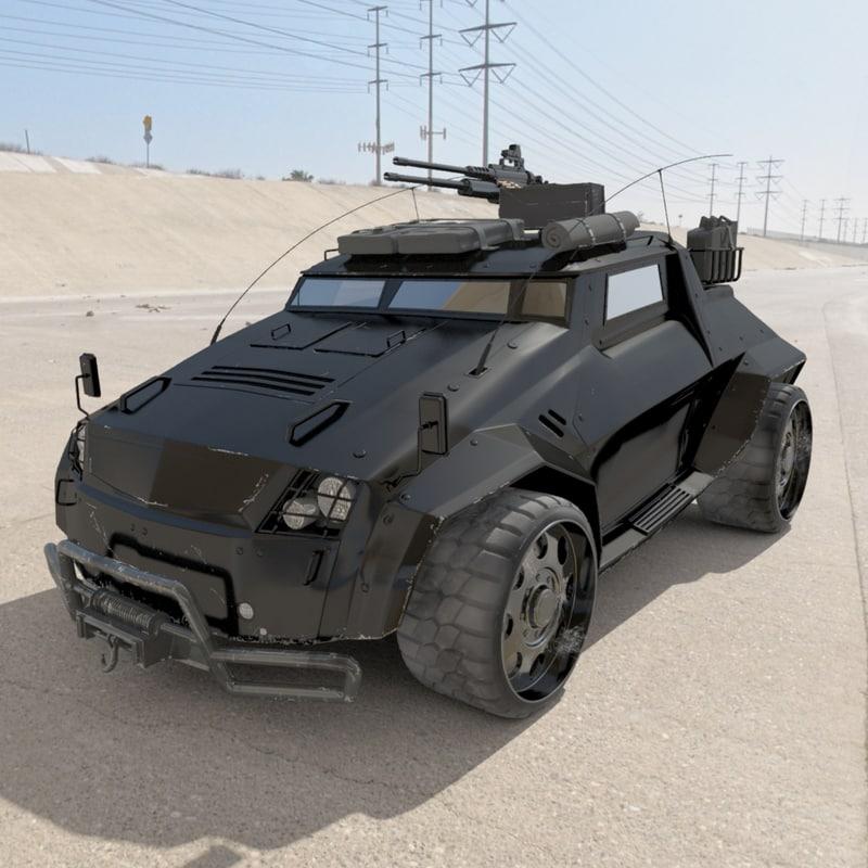 ACP730 Defiants Light Assault & Recon Vehicle
