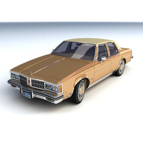 Oldsmobile Delta 88 Royale 3D Models