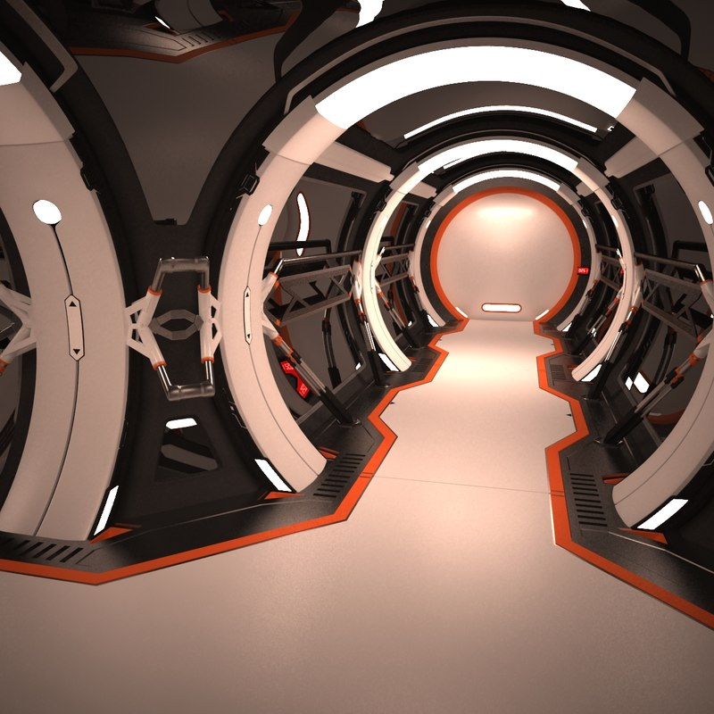spaceship corridor 3D model 04c.jpg