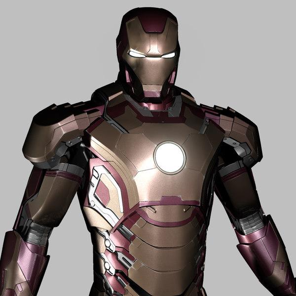 Iron Man Mark 42 3d Model Iron Man Mark 42 3d Models