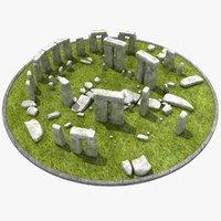 Stonehenge 3D models