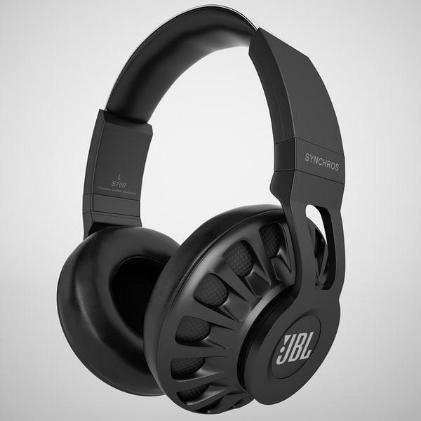 JBL Synchros S700 01 3D Models