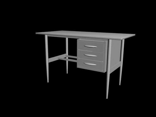 Old style wood Desk