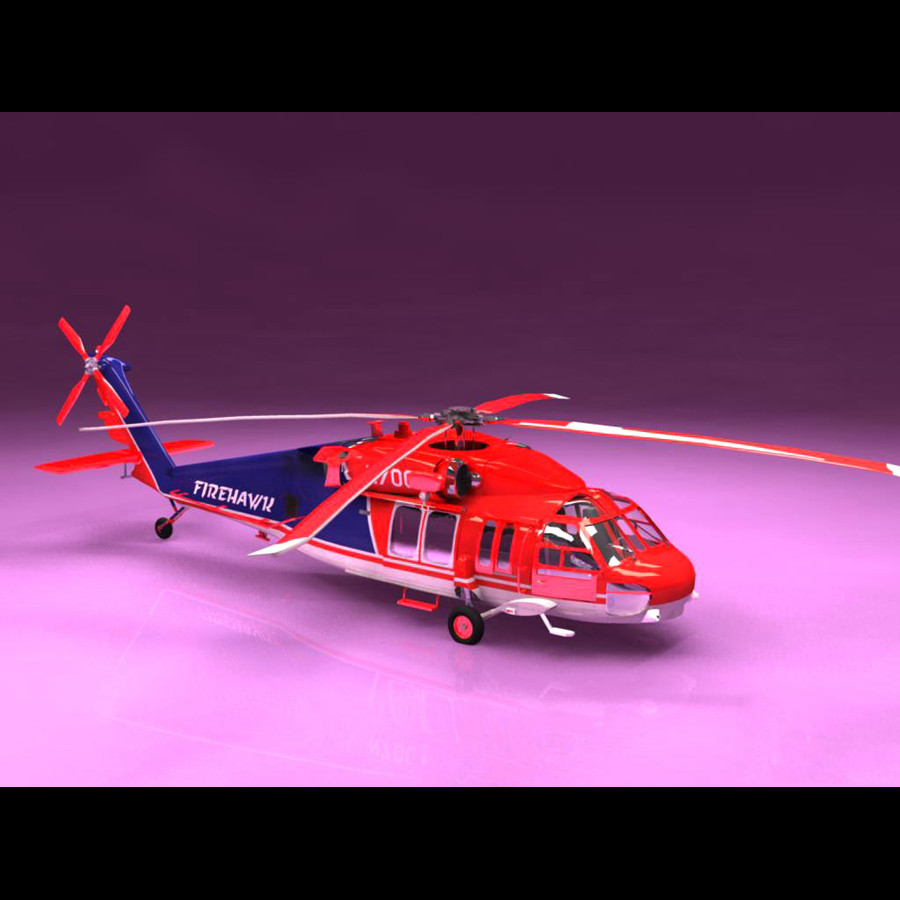 Sikorsky S-70A Firehawk