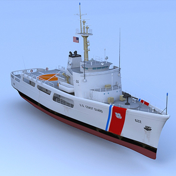 US Coast Guard WMEC 210 3D Models