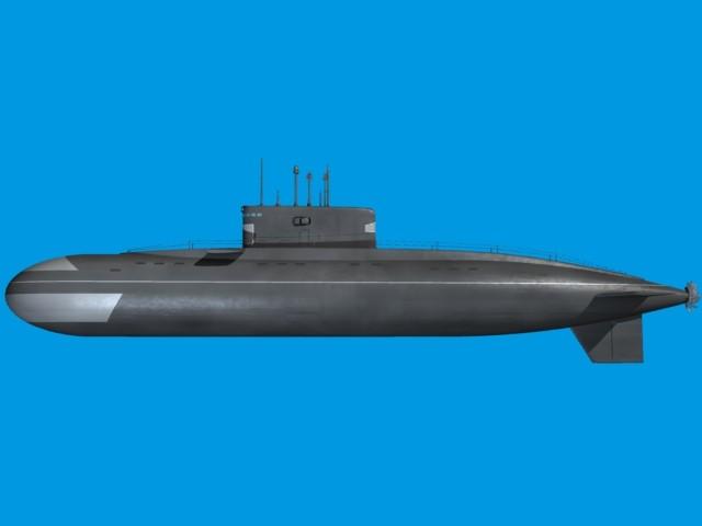 Iranian Kilo Submarine