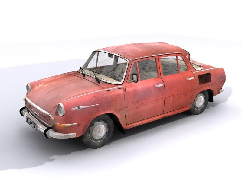 Searched 3d models for Skoda 120L