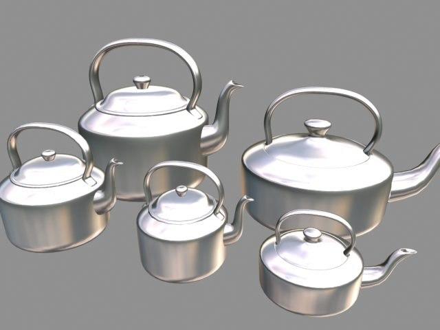 01 Tea Pot Set