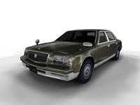 Toyota Century 3D models