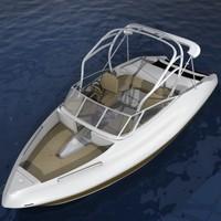 skiboat 3D models