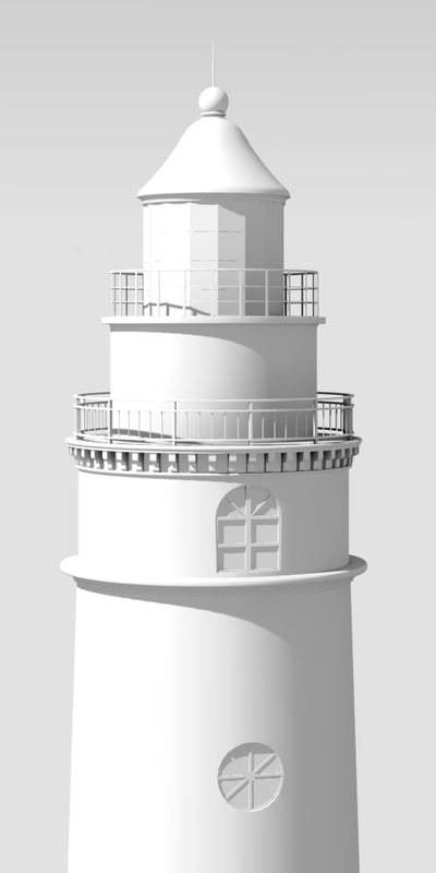 3ds max lighthouse fresnel lens