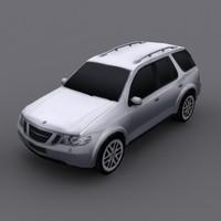 Saab 9-7X 3D models