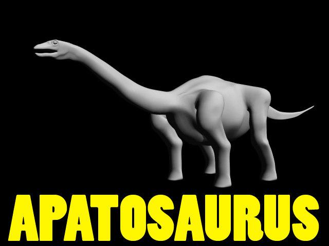 Apatosaurus_Primitive_LWO.lwo