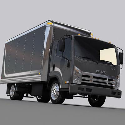 Box truck 04 3D Models