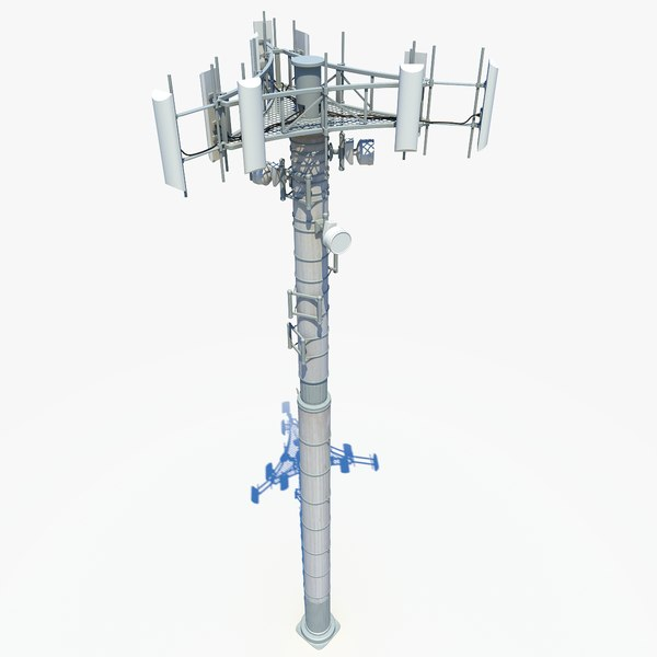 Cell Tower 3D Models