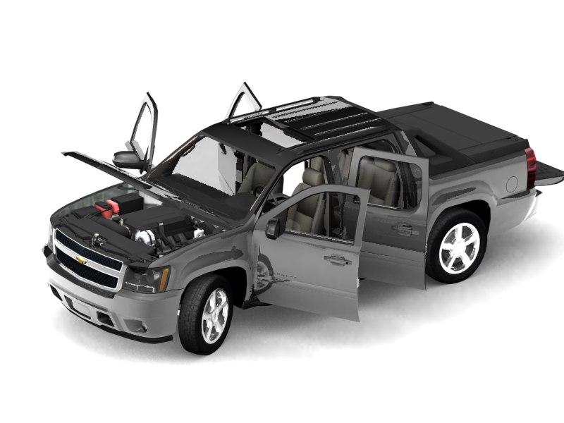 Chevrolet Avalanche (2007) - Max