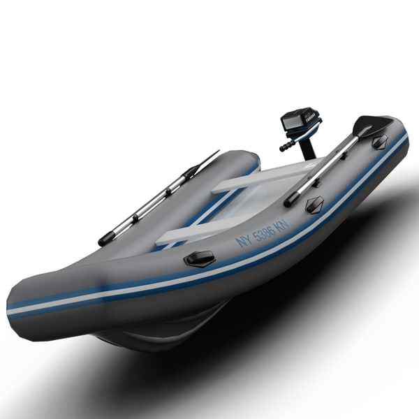 Inflatable Dingy 3D Models