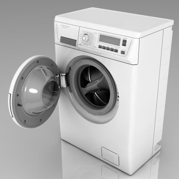 3d Washing Models Max 3ds Obj Fbx C4d