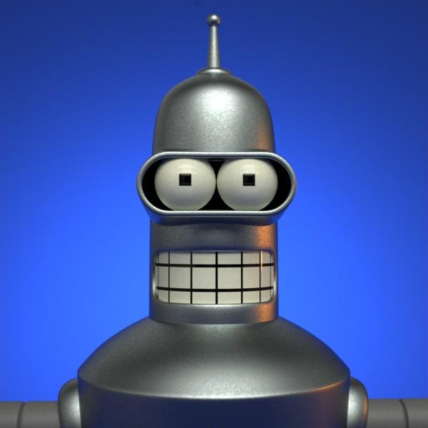 Bender 3D Models