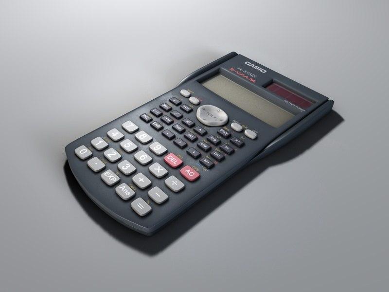 Casio fx-85MS calculator