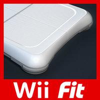 Wii 3D models