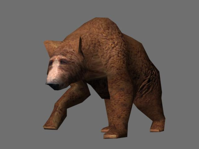 animated grizzly bear