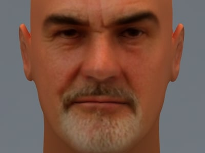 Sean Connery 3D Models