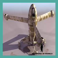 FOCKE WULF TRIEBFLÜGEL 3D models