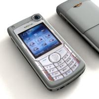Nokia 6680 3D models