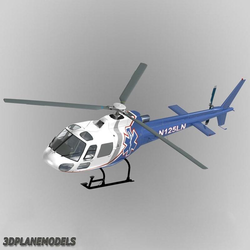 Eurocopter AS350 Life Net