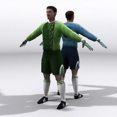 goalkeeper 3D Models