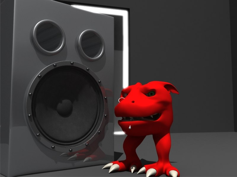 Speaker and Stage