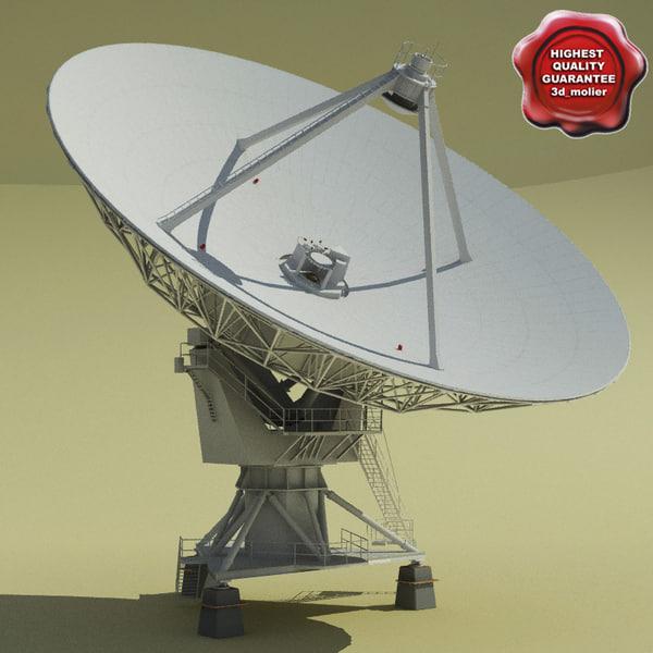 VLA Radio Telescope Texture Maps