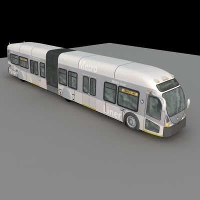 MetroLiner.zip 3D Models