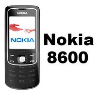 Nokia 8600 Luna 3D models