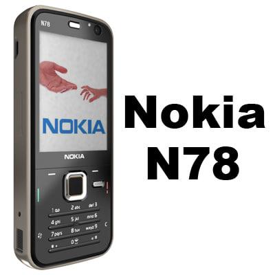 Nokia N78 3D Models