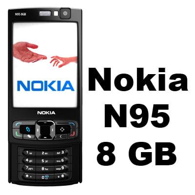 Nokia N95 8GB 3D Models