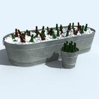 ice bucket 3D models