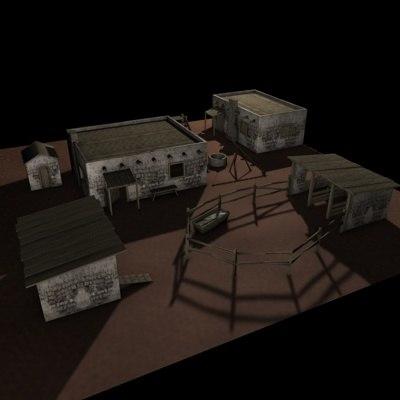 adobe Farmstead.zip 3D Models