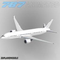 Boeing 787-9 3D models