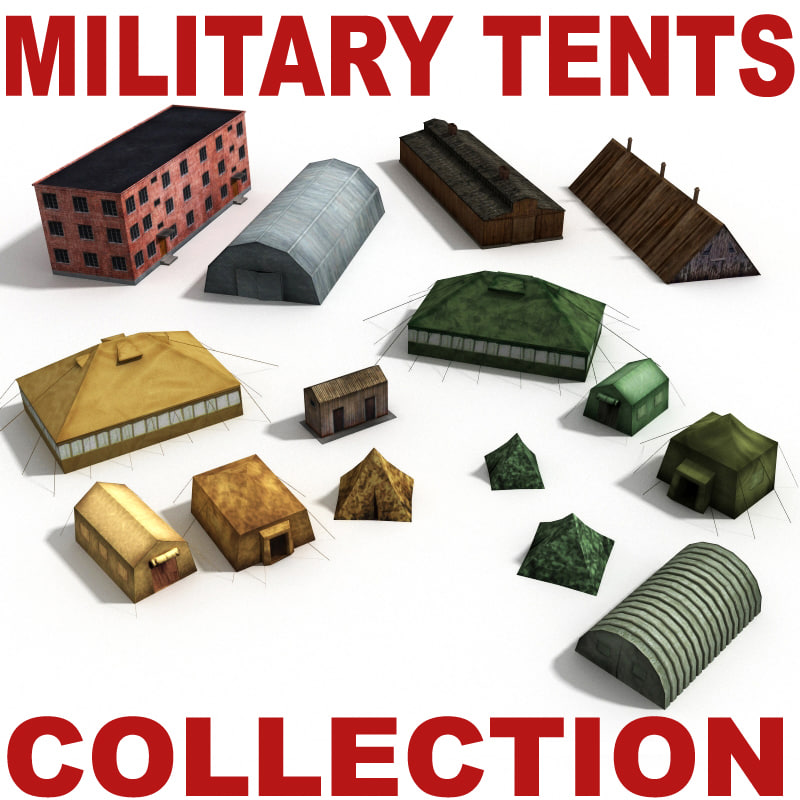 Military tents and houses Collection_0.jpg