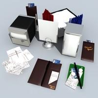 place card holder 3D models