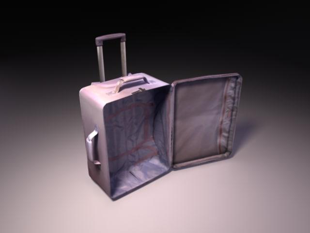 Lilac Suitcase