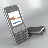 Nokia 3109 3D models
