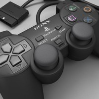 Sony Playstation Joypad 3D models