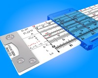 slide rule 3D models