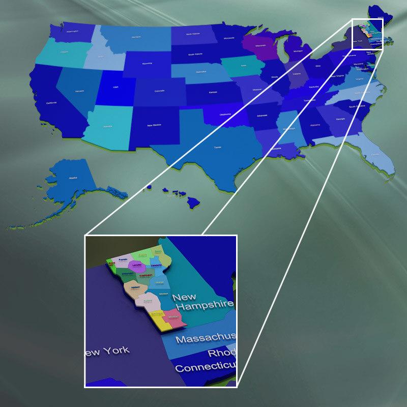 Vermont counties